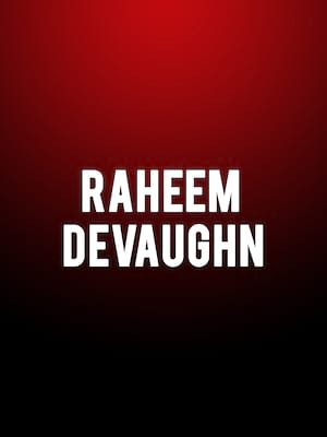 Raheem Devaughn at Music Hall at Fair Park