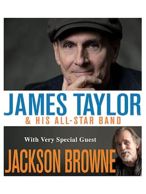 James Taylor with Jackson Browne Poster