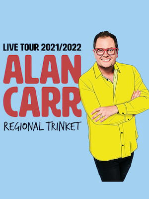 Alan Carr, Edinburgh Playhouse Theatre, Edinburgh