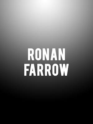 Ronan Farrow Poster