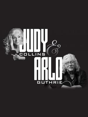 Judy Collins and Arlo Guthrie at Bergen Performing Arts Center