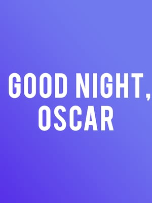 Good Night Oscar Poster