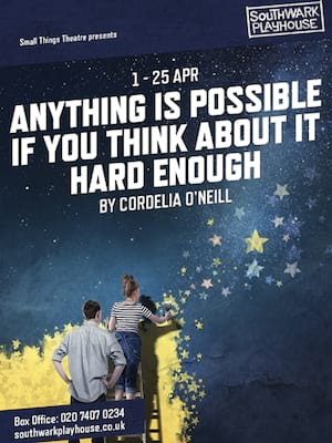 Anything Is Possible If You Think About It Hard Enough Poster