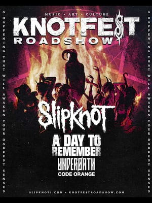 Knotfest - Slipknot, A Day To Remember, Underoath, Code Orange Poster