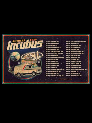 Incubus with 311 at FivePoint Amphitheatre