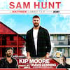 Sam Hunt, Cynthia Woods Mitchell Pavilion, Houston