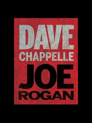 Dave Chappelle and Joe Rogan Poster