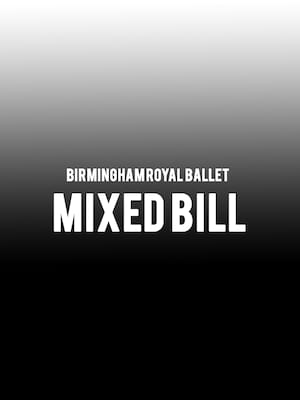 Birmingham Royal Ballet - Mixed Bill Poster
