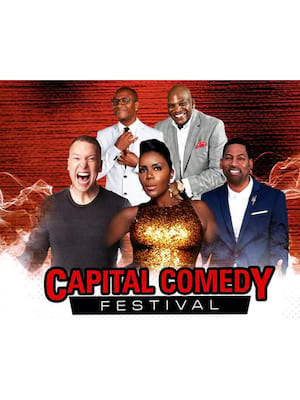 Capital Comedy Festival feat. Sommore, Gary Owen, Tony Rock Poster