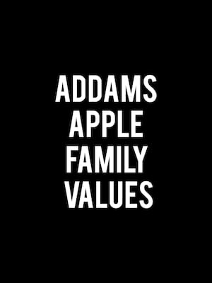 Addams Apple Family Values Poster