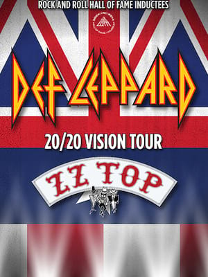 Def Leppard and ZZ Top Poster