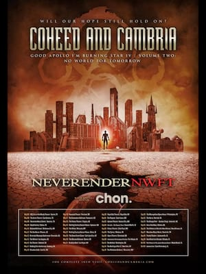 Coheed and Cambria at Florida Theatre