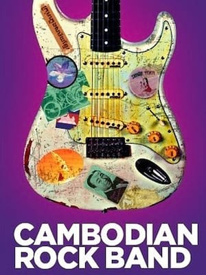 Cambodian Rock Band Poster