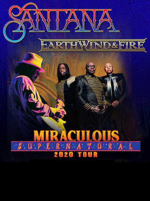 Santana with Earth Wind and Fire at KeyBank Pavilion