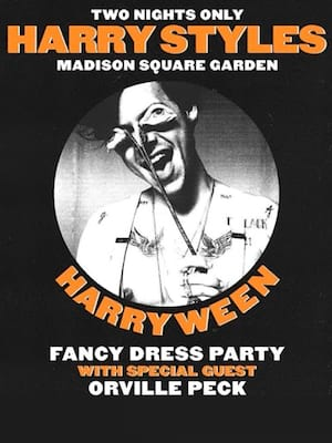 Harryween, Madison Square Garden, New York