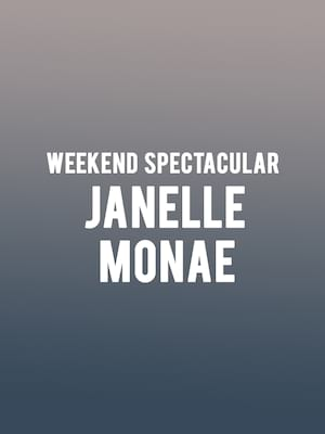 Weekend Spectacular Janelle Monae, Hollywood Bowl, Los Angeles