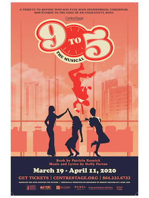 9 to 5 - The Musical Poster