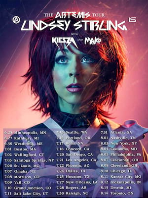 Lindsey Stirling at Saratoga Performing Arts Center