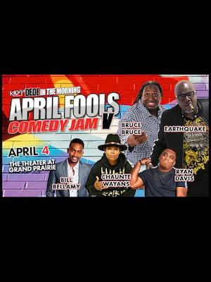 April Fools Comedy Jam Poster
