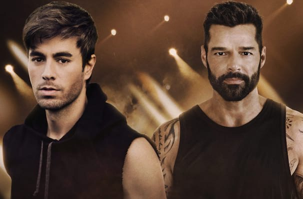 Enrique Iglesias and Ricky Martin, SAP Center, San Jose