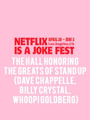 Netflix is a Joke Fest - The Hall Poster