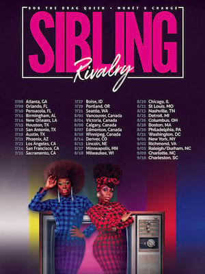 Sibling Rivalry Live, Saenger Theatre, Pensacola