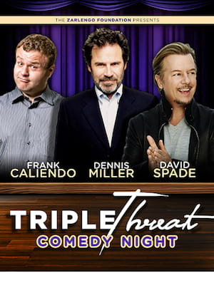 Triple Threat Comedy Night Poster