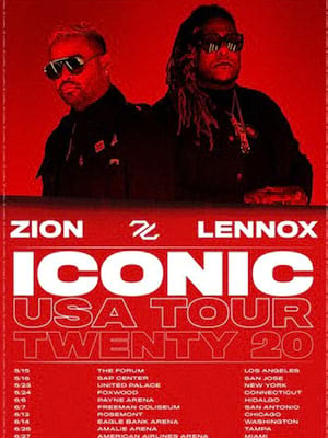 Zion y Lennox at The Forum