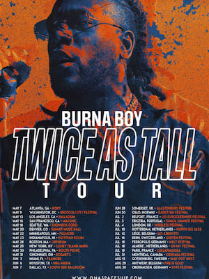 Burna Boy, NRG Arena, Houston