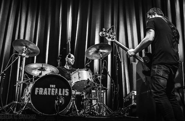 The Fratellis, Commodore Ballroom, Vancouver