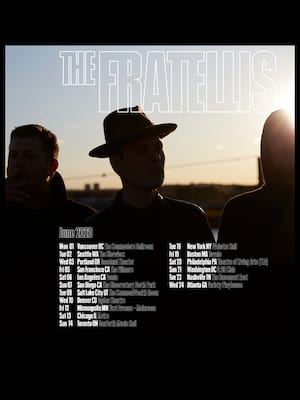 The Fratellis at Theatre Of The Living Arts