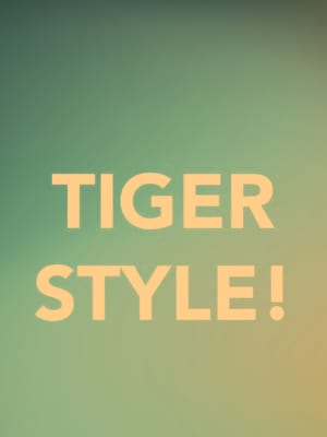 Tiger Style! at Berlind Theater
