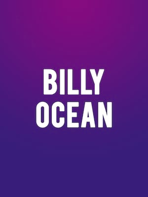 Billy Ocean, Blue Note Hawaii, Honolulu