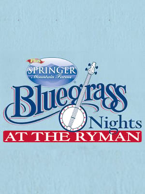 Bluegrass Nights at the Ryman Poster
