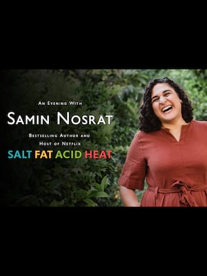 Samin Nosrat at Dell Hall