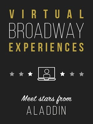 Virtual Broadway Experiences with ALADDIN, Virtual Experiences for Charleston, Charleston