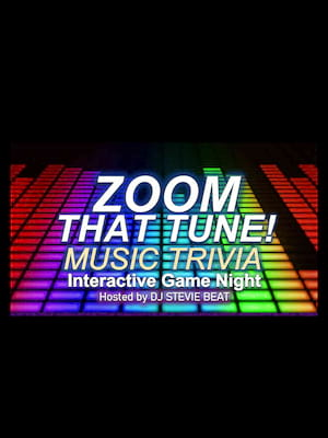 Zoom That Tune Interactive Game Show Poster