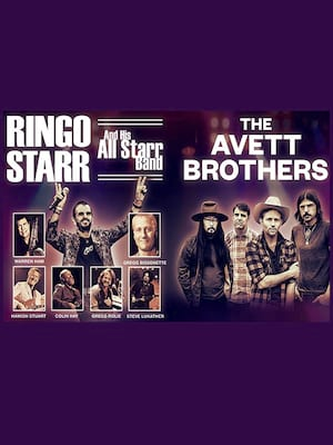 The Avett Brothers with Ringo Starr and His All Starr Band at Wang Theater