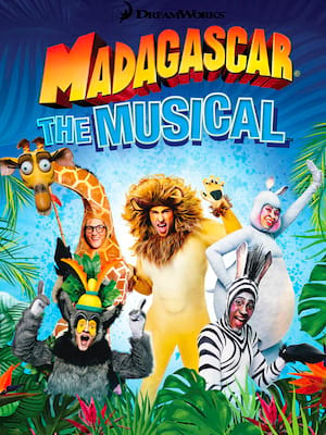Madagascar: The Musical Poster