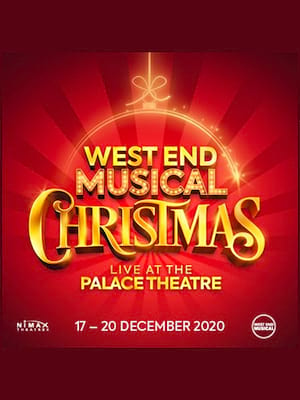 West End Musical Christmas Poster