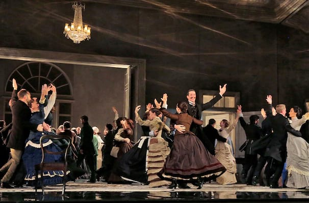 Metropolitan Opera Eugene Onegin, Metropolitan Opera House, New York