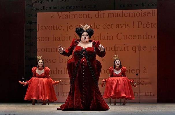 Metropolitan Opera Cinderella, Metropolitan Opera House, New York