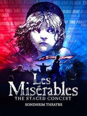 Les Miserables The Concert Poster