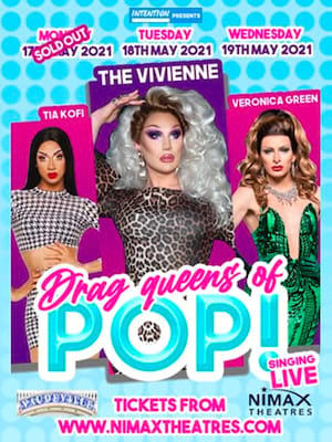 Drag Queens of Pop Poster