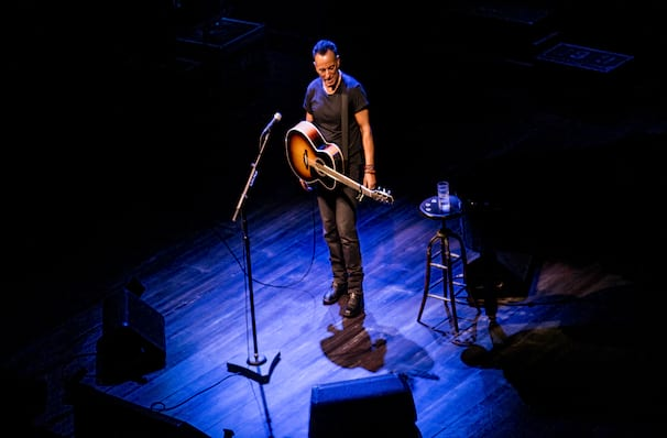 Springsteen on Broadway, St James Theater, New York