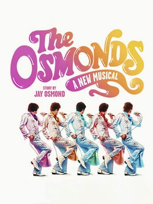 The Osmonds - A New Musical Poster