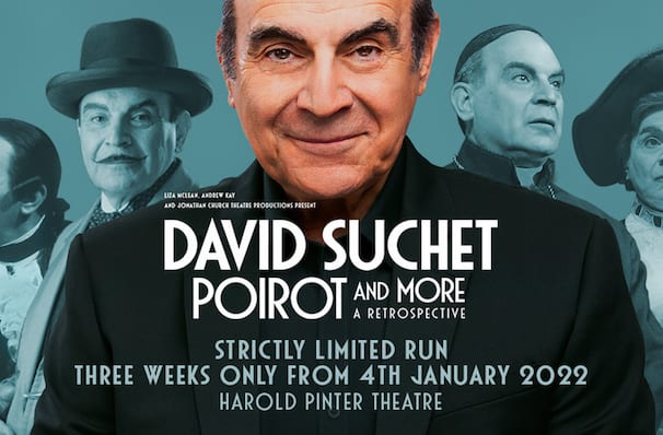 David Suchet Poirot and More A Retrospective, Harold Pinter Theatre, London