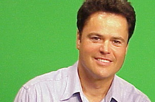 Dates announced for Donny Osmond