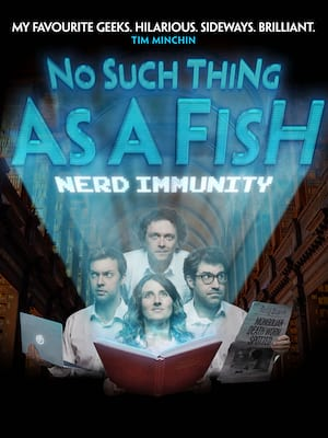 No Such Thing as a Fish Live Poster