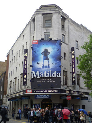 Cambridge Theatre London Matilda The Musical Tickets Information Reviews